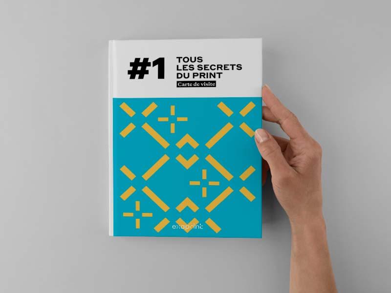 couverture livre blanc exaprint carte de visite
