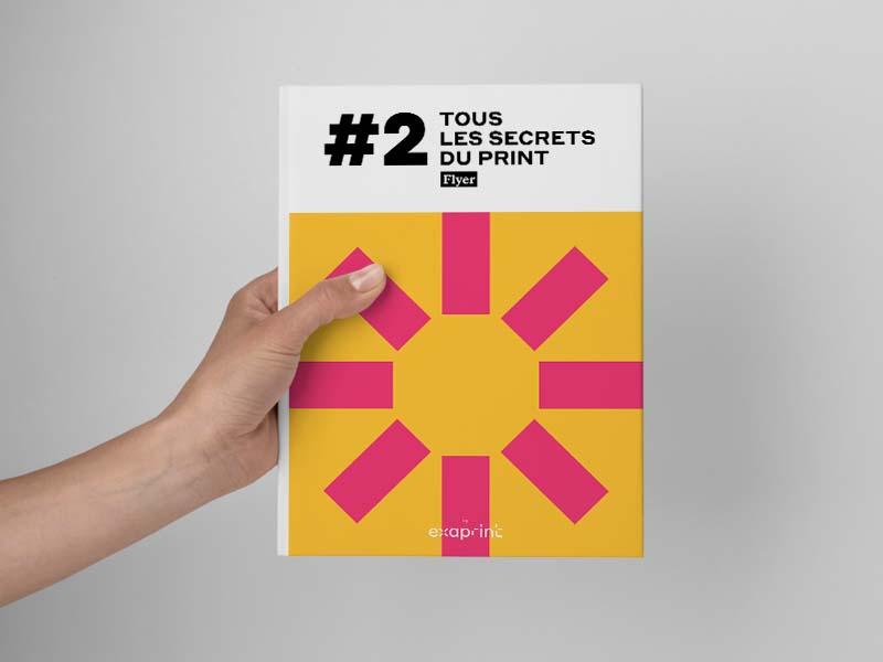 couverture livre blanc exaprint flyer