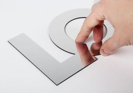 Letra&Logo Espejo