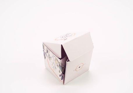 Caja sorpresa cubo