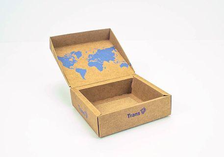 Caja cuadrada reforzada