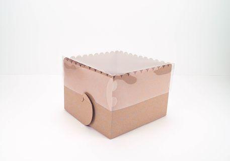 Caja vitrina cuadrada