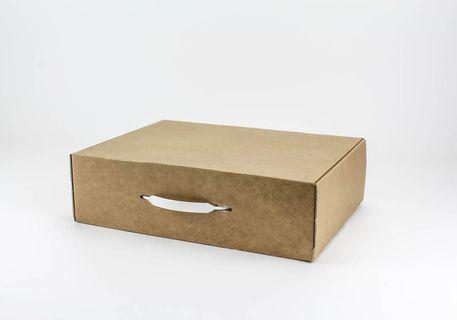 Maletín de cartón