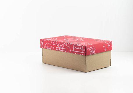 Caja rectangular con tapa