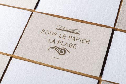 Papier texturé