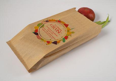 Sachet papier Fruits et légumes - Maraîcher- Impression quadri