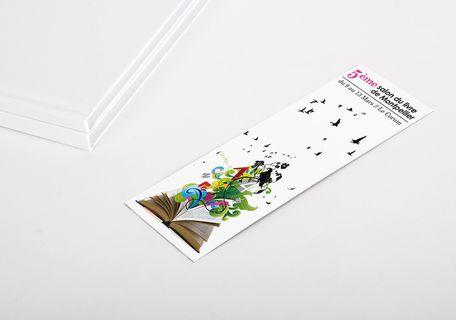 Impression Marque Pages Pochette Ou Reglette Exaprint