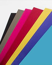 Carte de visite papier couleur