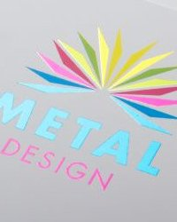 Dépliant Metal Design