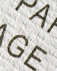 Dépliant Papiers texturés