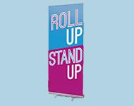 Roll'up aluminium standard