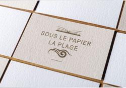 Carte Papier Texturés