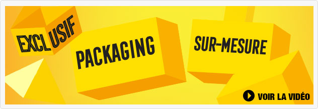 Exclusif Packaging sur-mesure